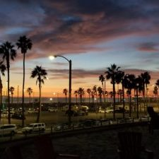 Sunset in HB